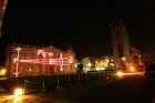 Cambridge University's 800th Anniversary Year Light Show